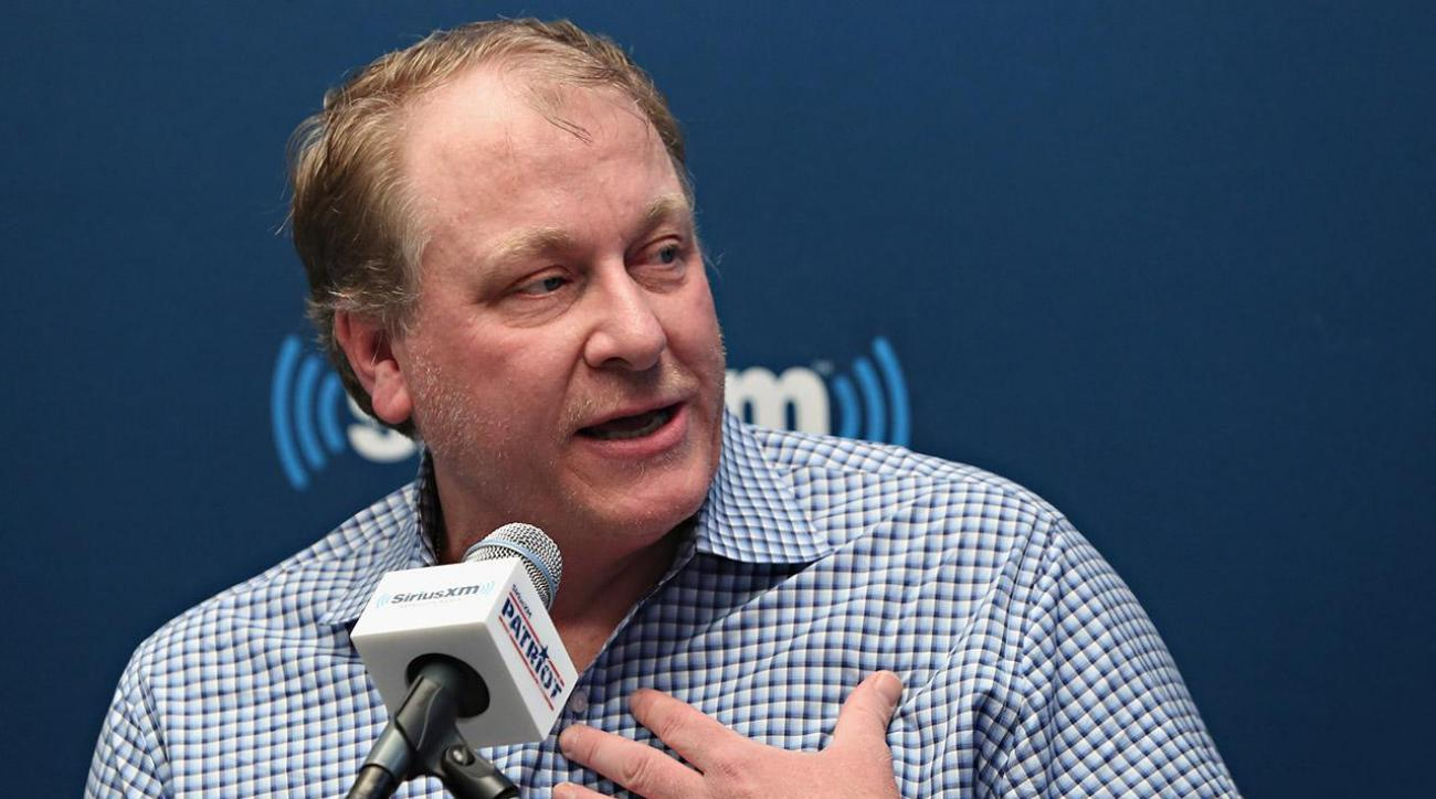 Curt Schilling: 'I didn't bring my work clothes that day'