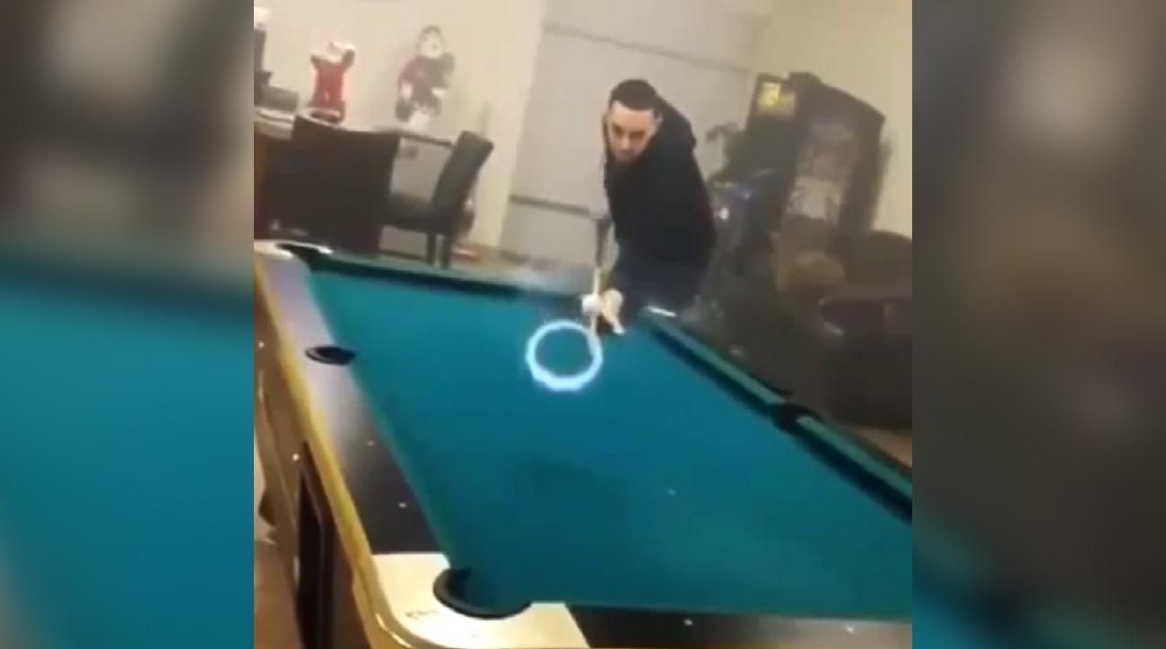Mustard Minute: Vaping made this pool trick shot cool IMG