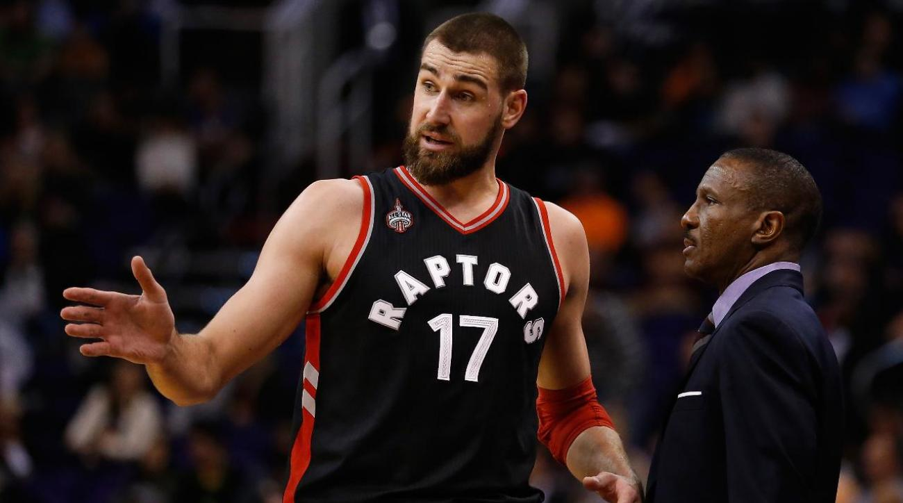 Raptors center Valanciunas out for Game 1 against Cavaliers IMAGE