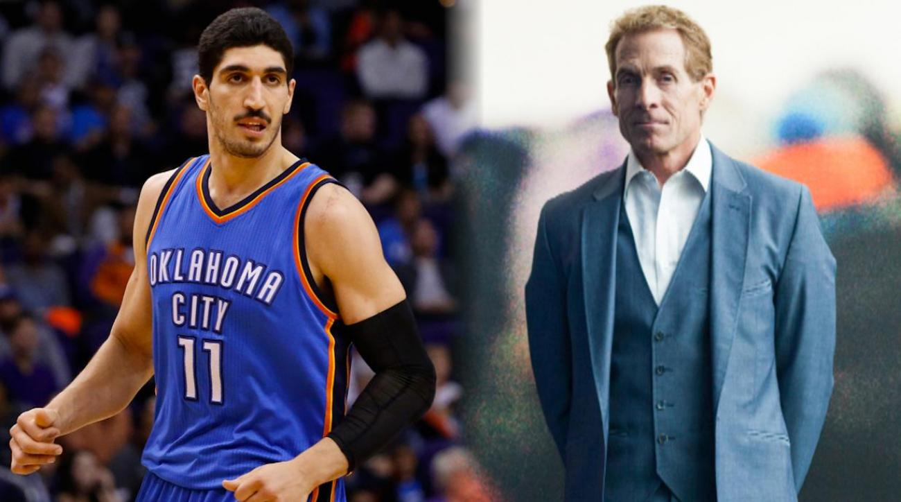 Thunder's Enes Kanter mocks Skip Bayless for bad prediction