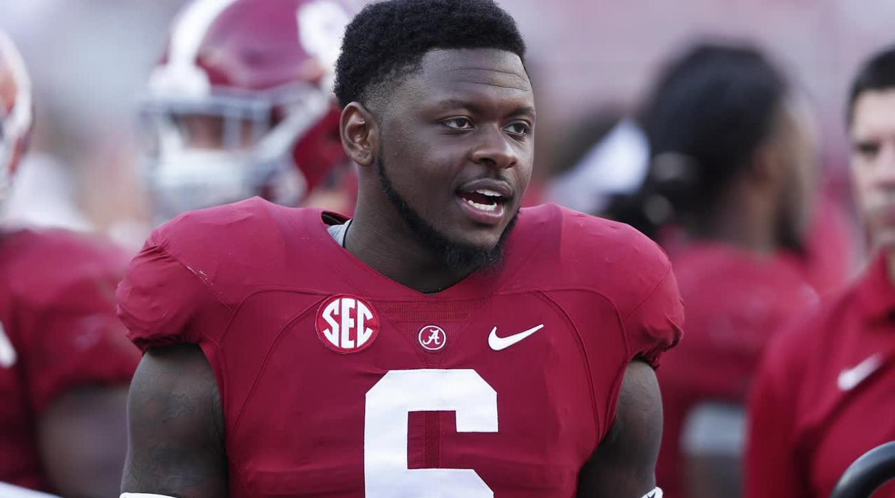 Alabama's Robinson, Jones arrested on possession and weapons charges IMAGE