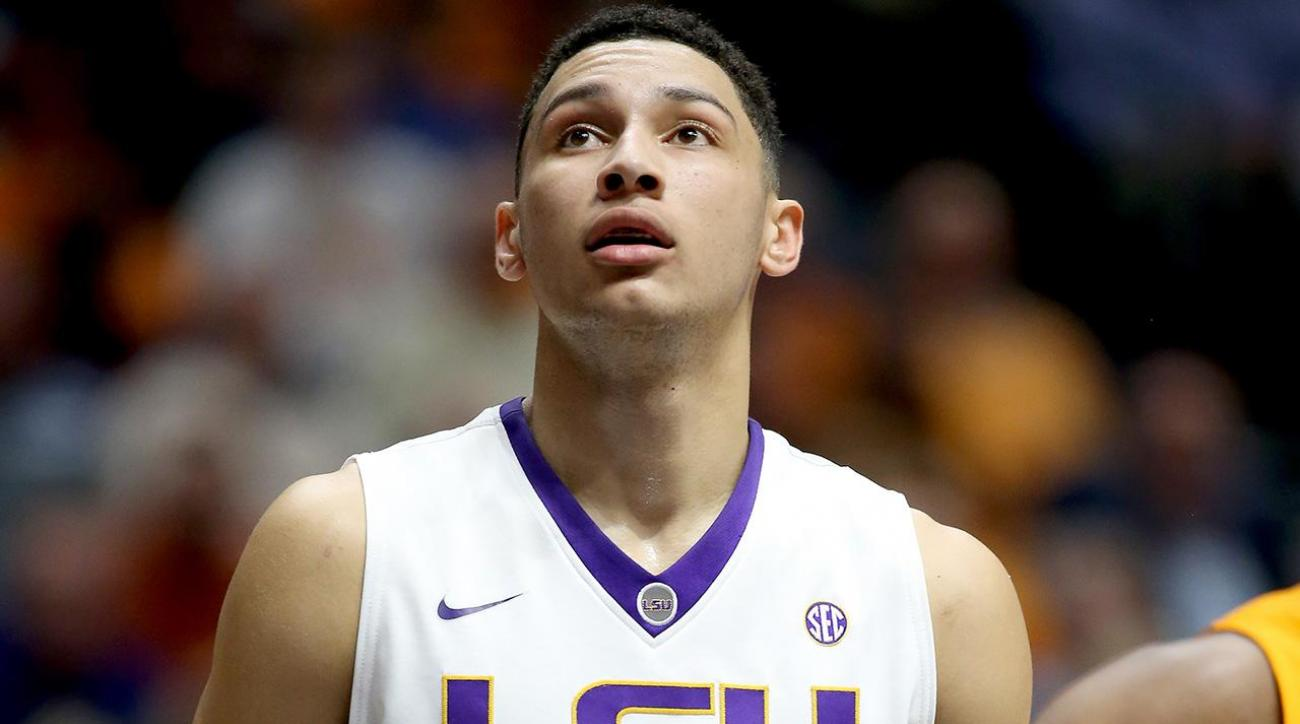 76ers leaning toward drafting LSU's Ben Simmons with No. 1 pick