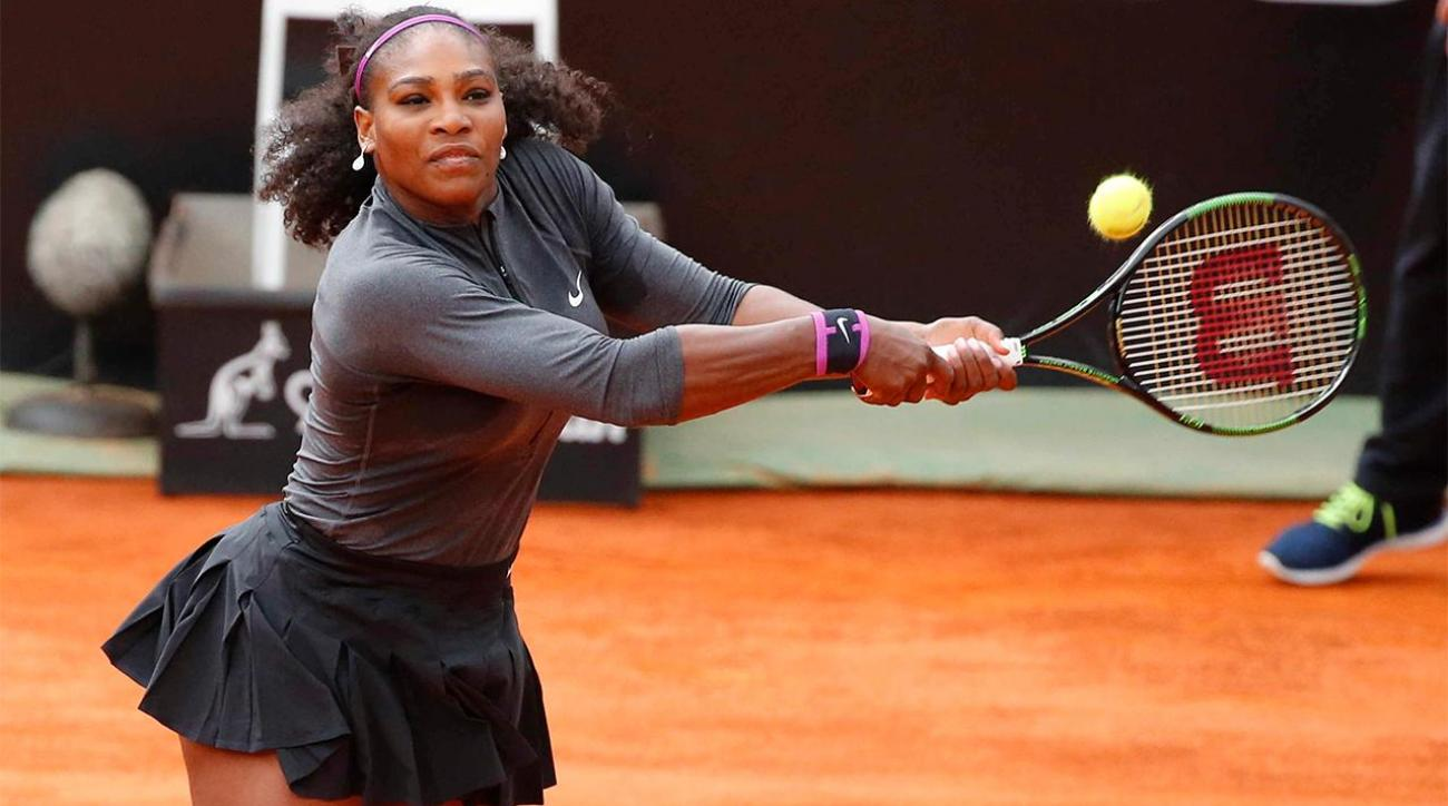 Serena Williams teams up with Dude Perfect for trick shot video IMAGE