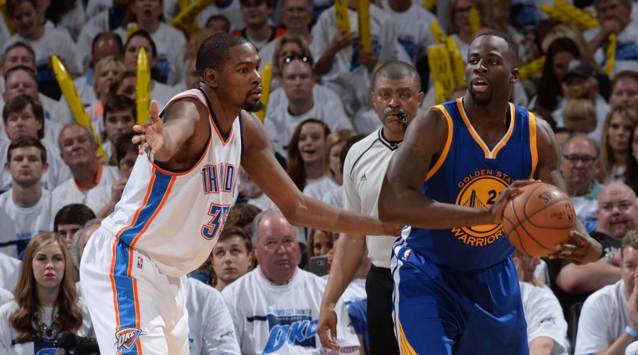 Kevin Durant didn't expect NBA to suspend Draymond Green IMAGE