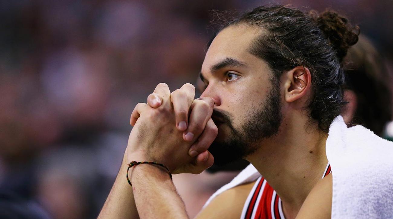 Report: Joakim Noah told teammates he will not return to Bulls IMAGE