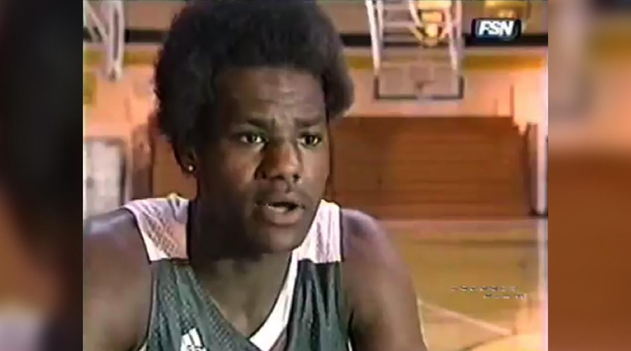 Mustard Minute TBT: 16-year old LeBron James had amazing hair and determination IMG