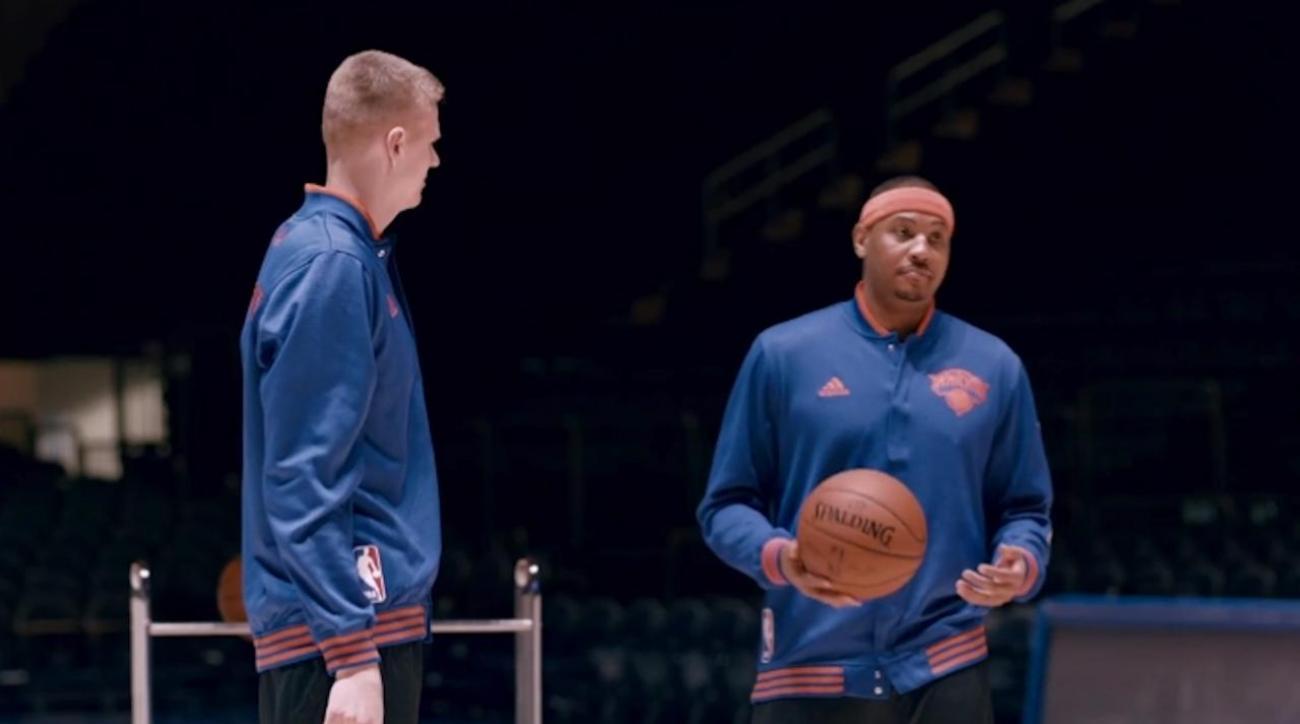 Kobe, Carmelo, Porzingis star in Ghostbusters commercial