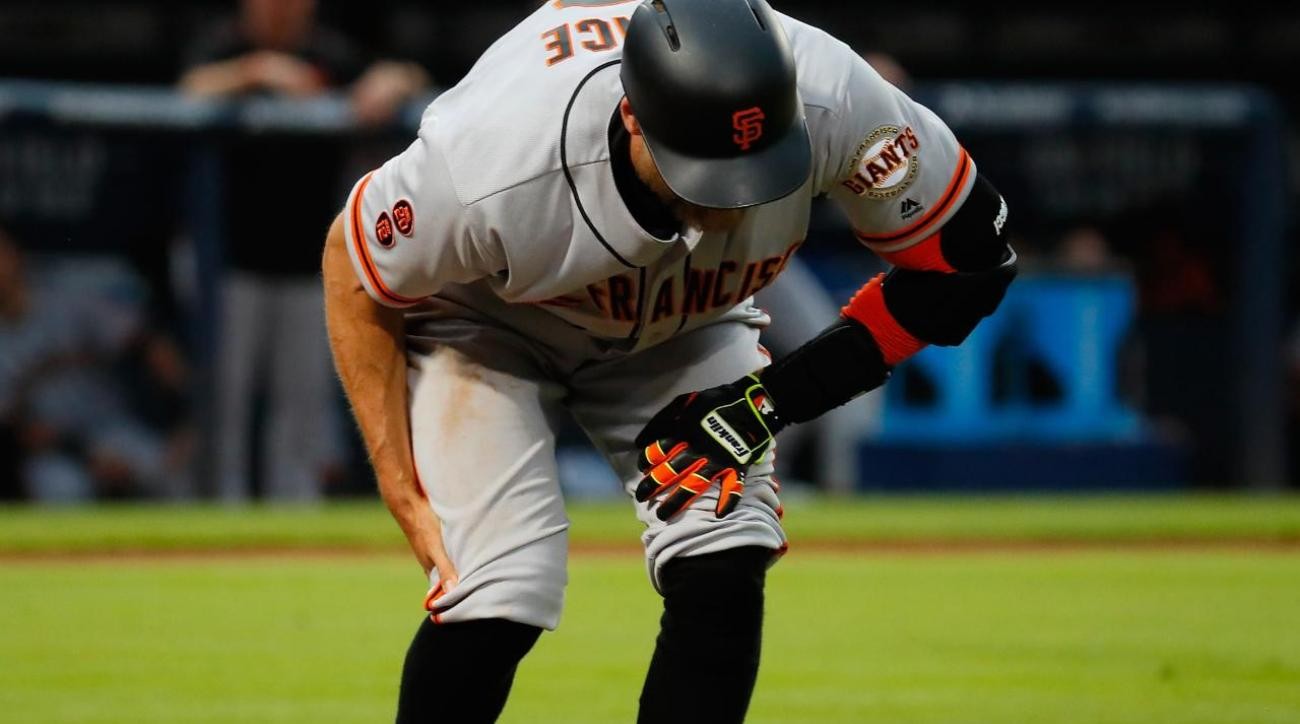 SF Giants' Hunter Pence out two months with torn hamstring