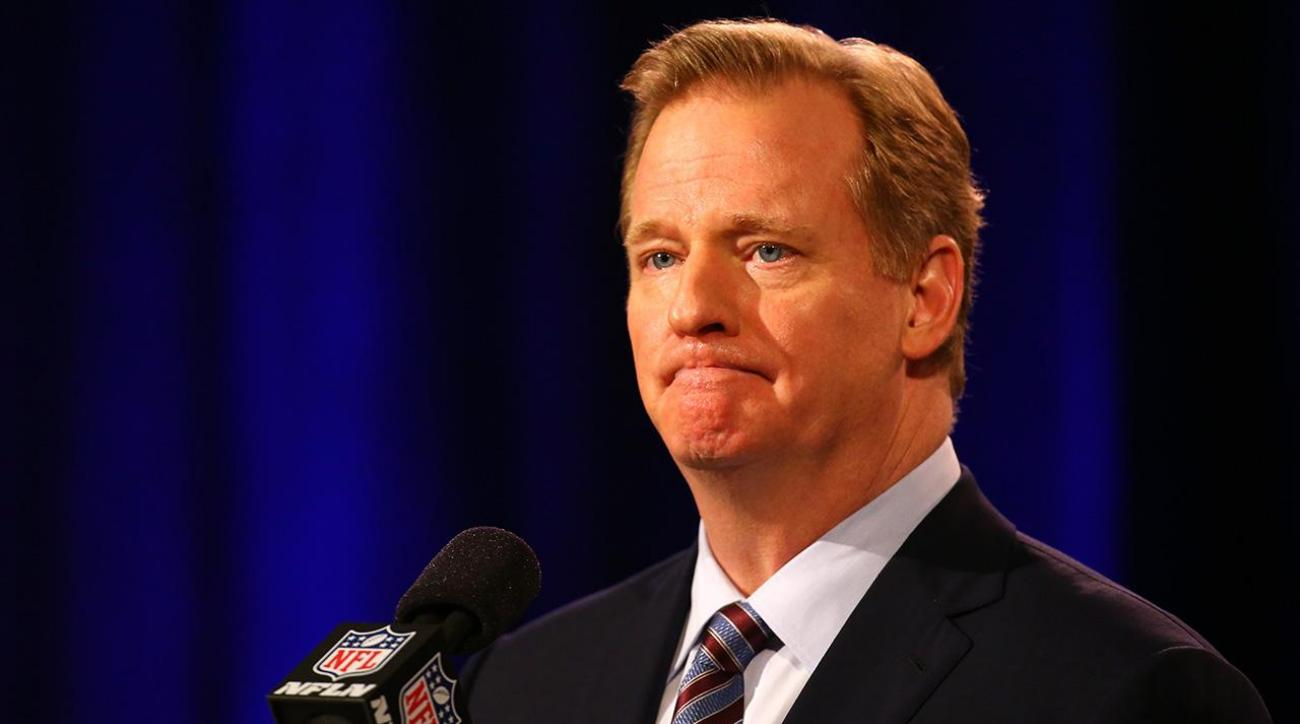 NFL's Twitter is hacked, says Roger Goodell has died