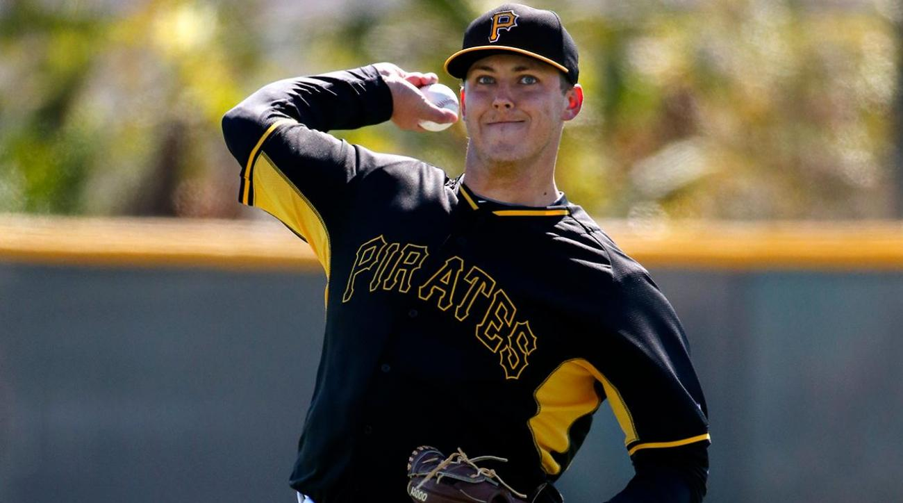 Pirates pitcher Jameson Taillon making debut six years after being drafted IMAGE