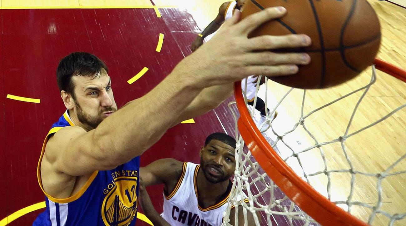 Mustard Minute: Andrew Bogut thinks social media reason why young players won't block dunks IMG