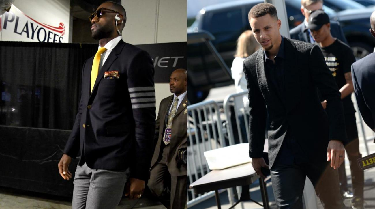 Sports Style Swipe: Warriors vs. Cavaliers IMG