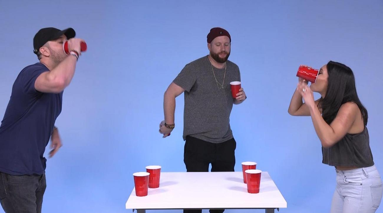 Mustard Minute: Ballplayer turned rapper Mike Stud plays Flip Cup IMG