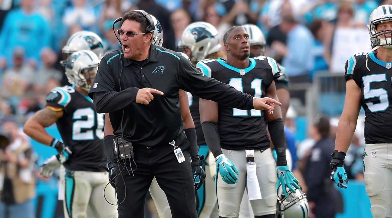 Ron Rivera signs new contract with Carolina Panthers