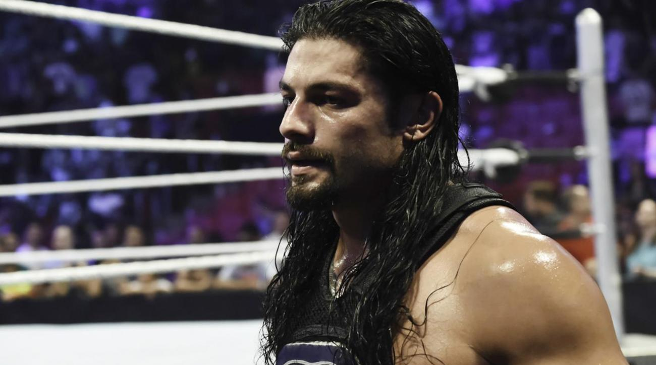 Roman Reigns suspended 30 days by WWE for wellness policy violation