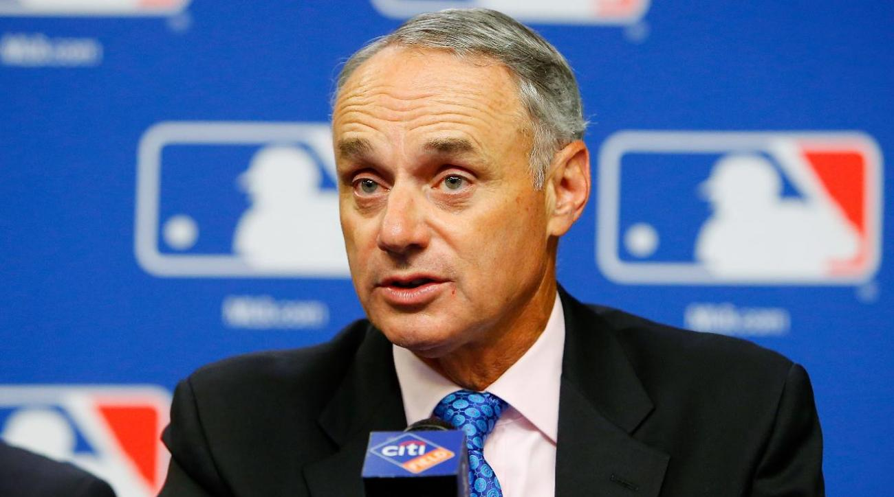 MLB commissioner Rob Manfred open to Vegas expansion