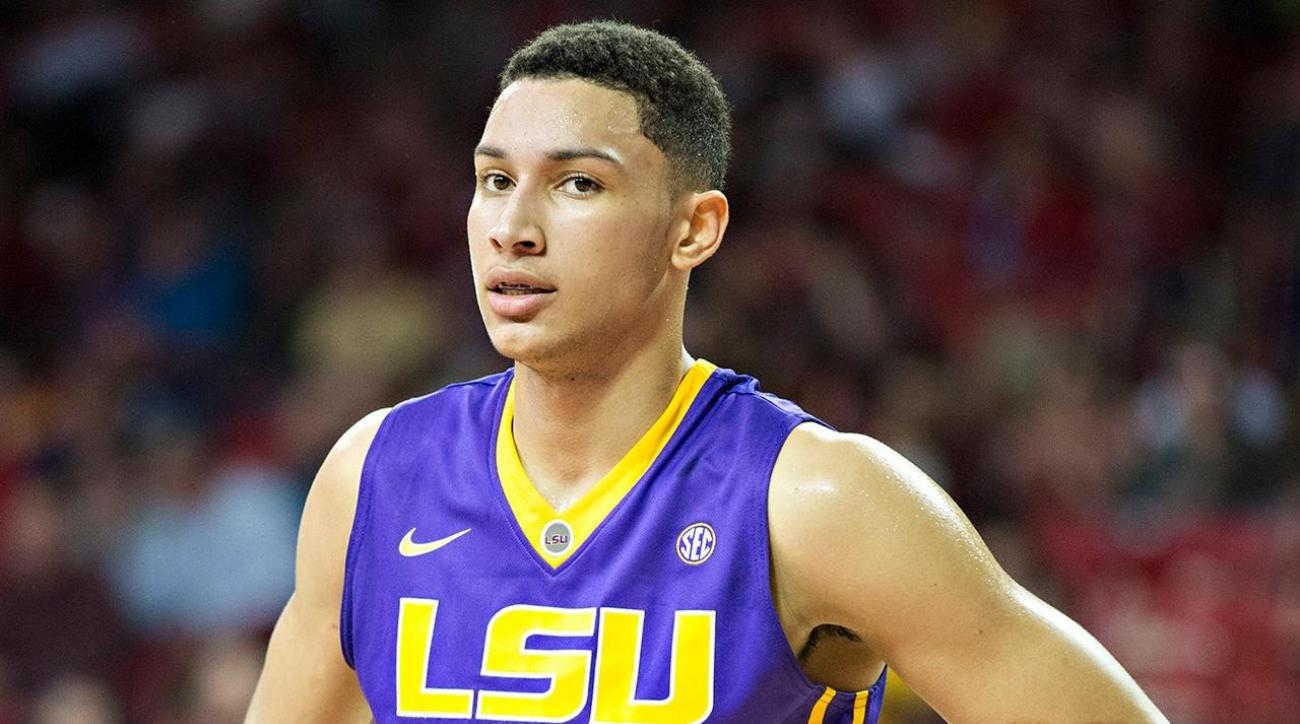 Philadelphia 76ers take Ben Simmons with No.1 pick IMAGE