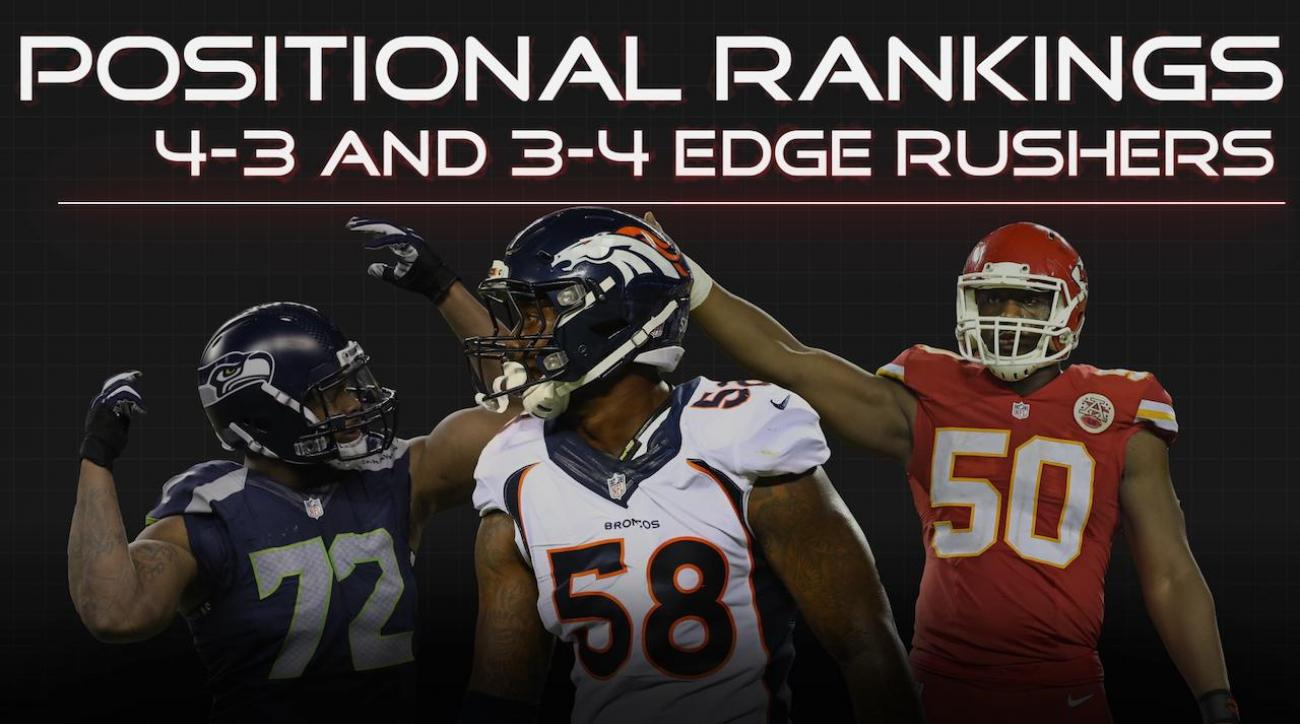 Positional Rankings: Edge rushers
