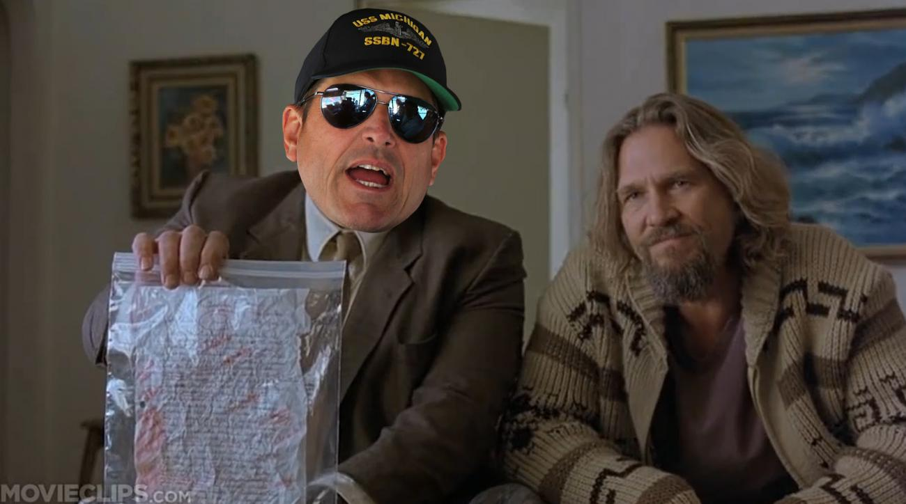 Mustard Minute: Jim Harbaugh as Walter Sobchak, David Ortiz as Morpheus and more for National Sunglasses Day IMG