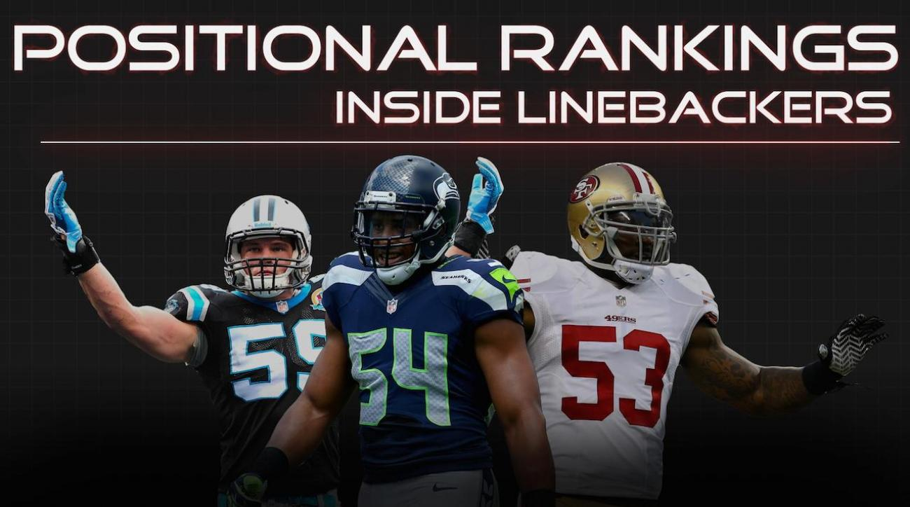 Positional Rankings: Inside linebackers