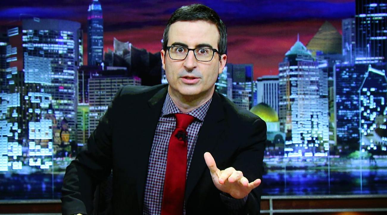 John Oliver takes aim at Olympic doping on 'Last Week Tonight'