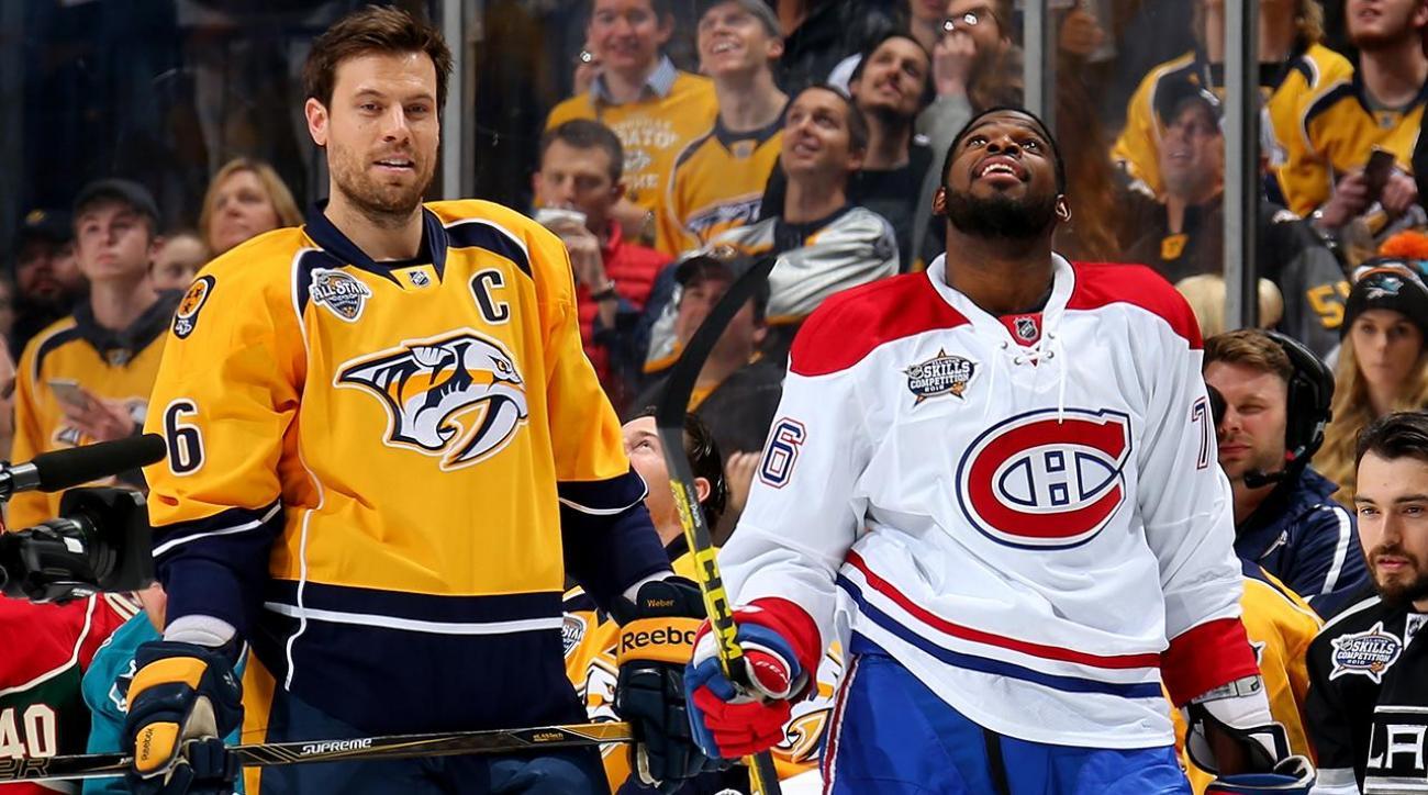 Canadiens trade P.K. Subban to Predators for Shea Weber IMAGE