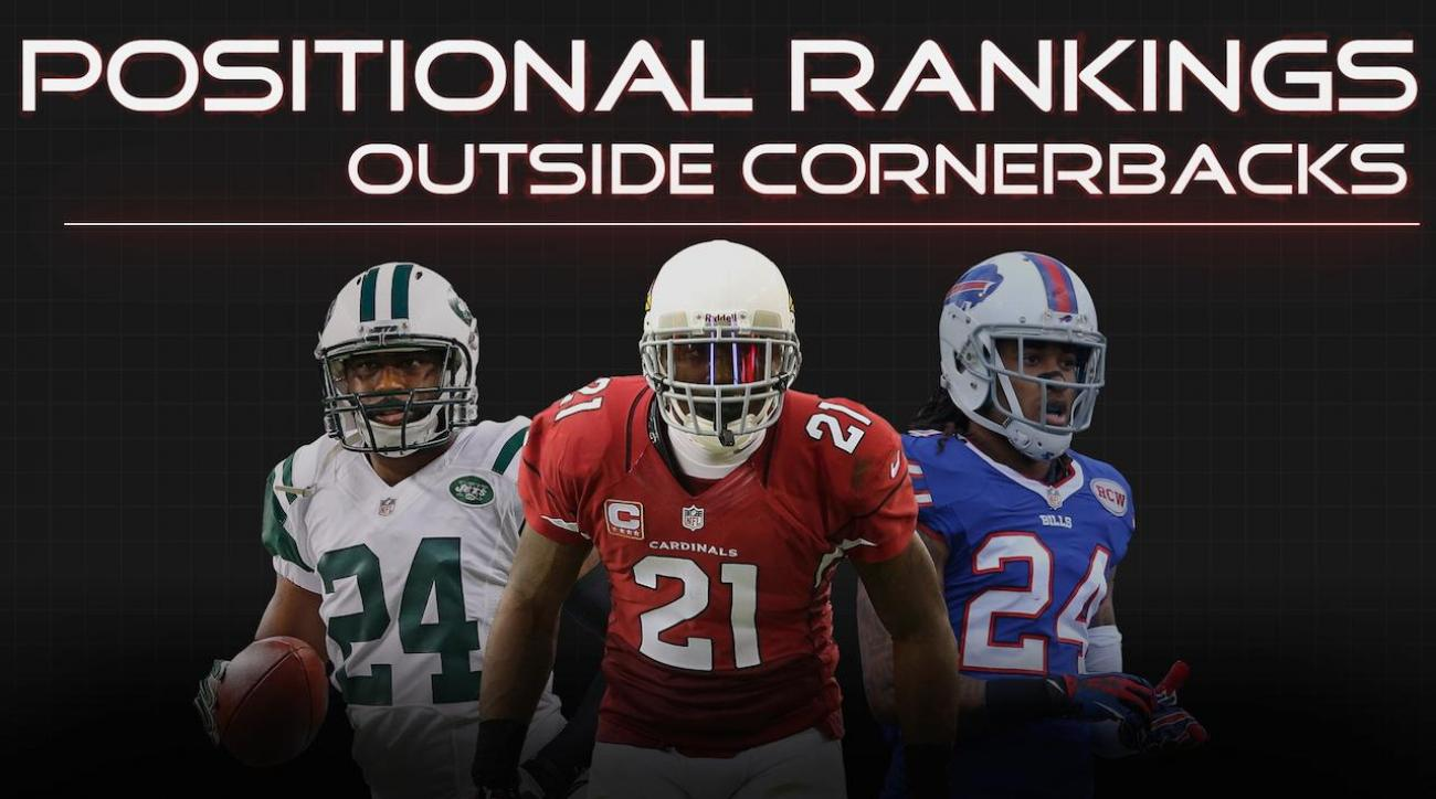 Positional Rankings: Outside cornerbacks