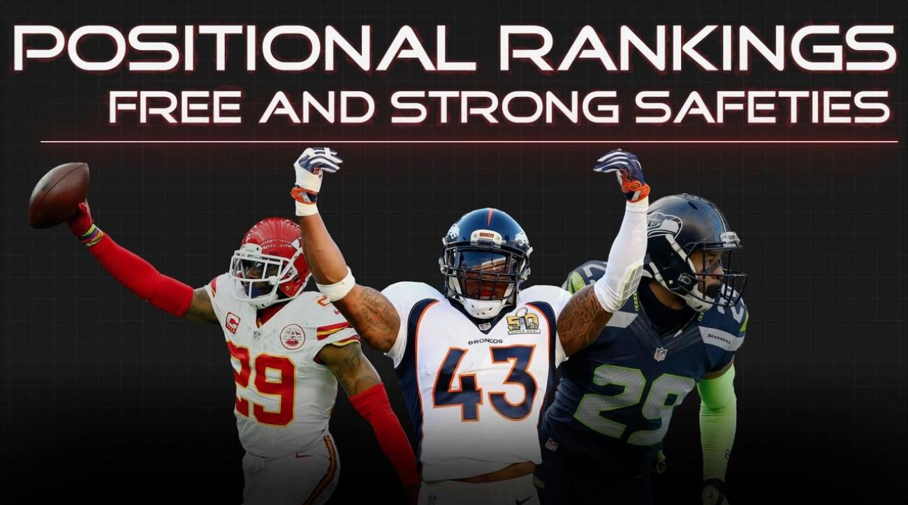 Positional Rankings: Safeties