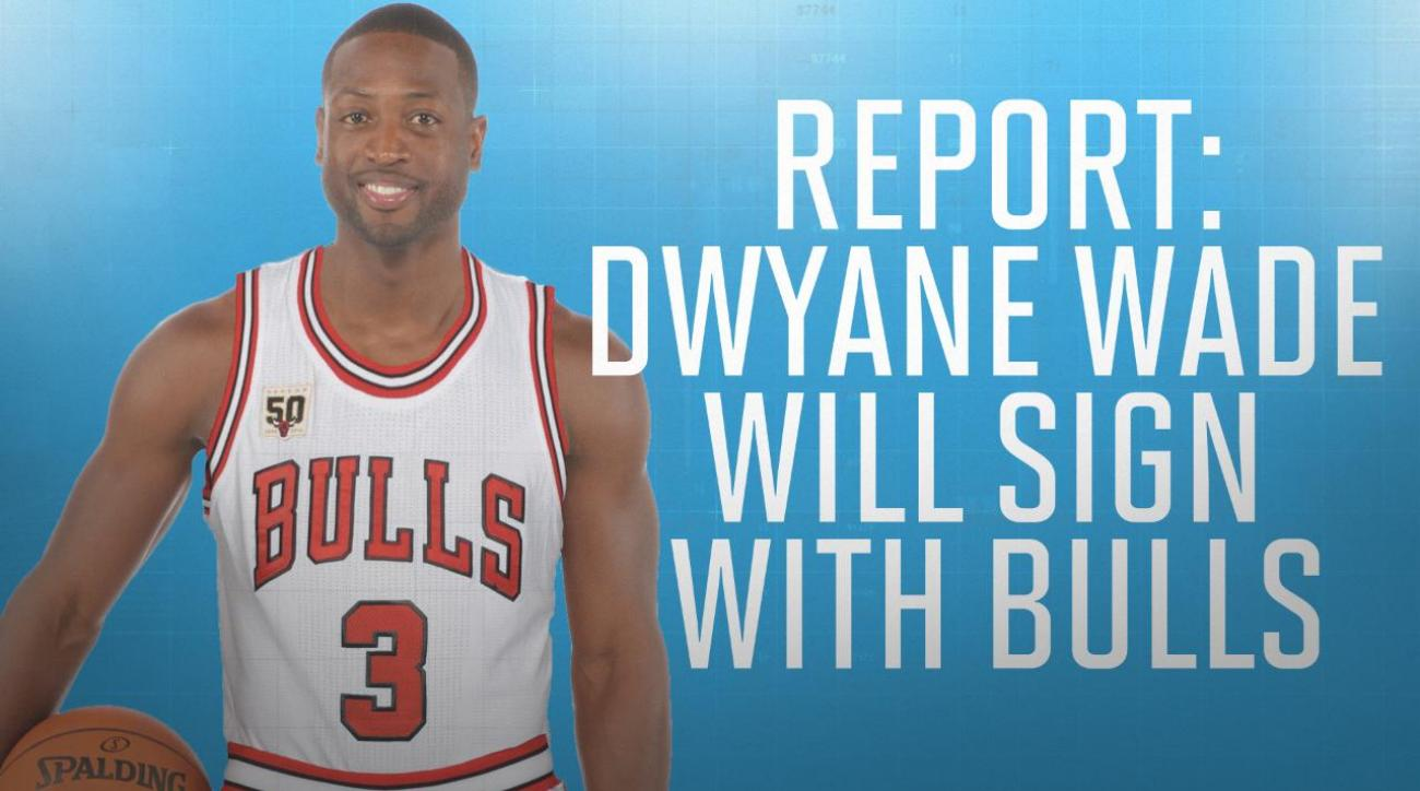 Report: Dwyane Wade will sign deal with Bulls