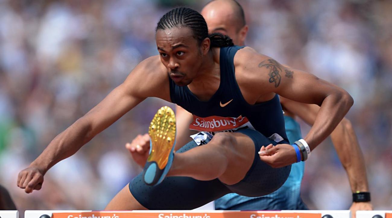 Months after kidney transplant, top hurdler Aries Merritt chasing Rio berth IMAGE