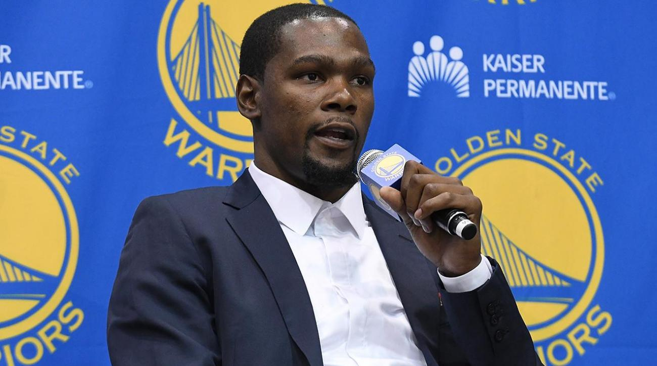 Kevin Durant: Going to Warriors 'best decision for me""