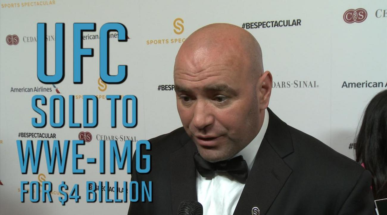 Report: UFC sold to WWE-IMG for $4 billion