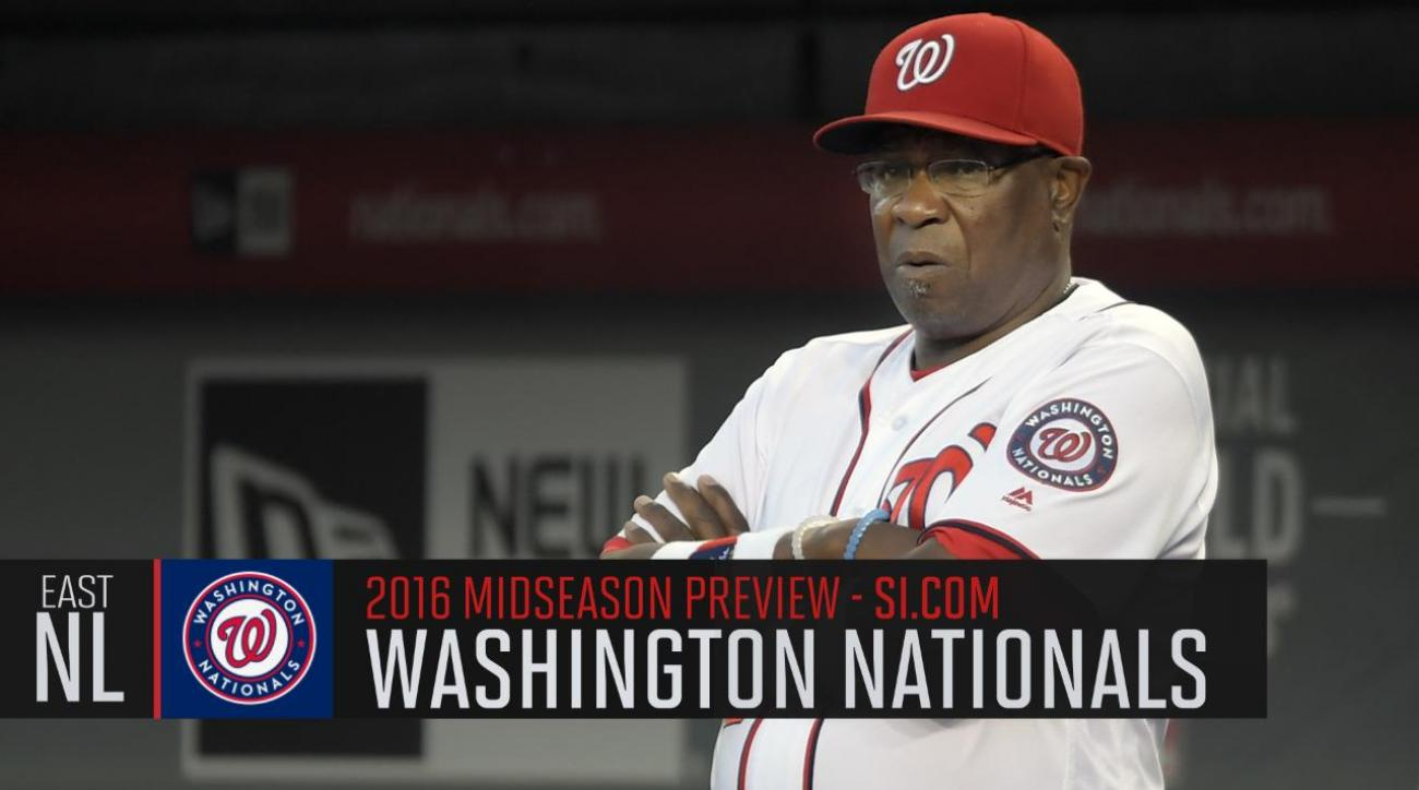 Verducci: Washington Nationals 2016 midseason preview