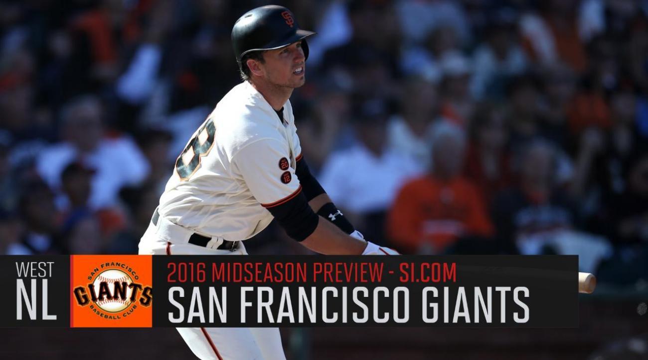 Verducci: San Francisco Giants 2016 midseason preview