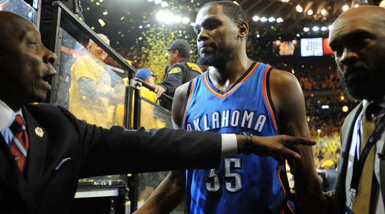 Andre Iguodala said Thunder were best team in playoffs