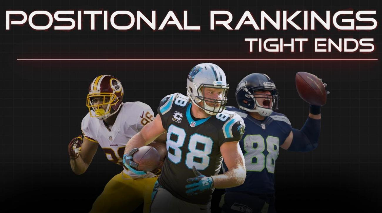 Positional Rankings: Tight Ends
