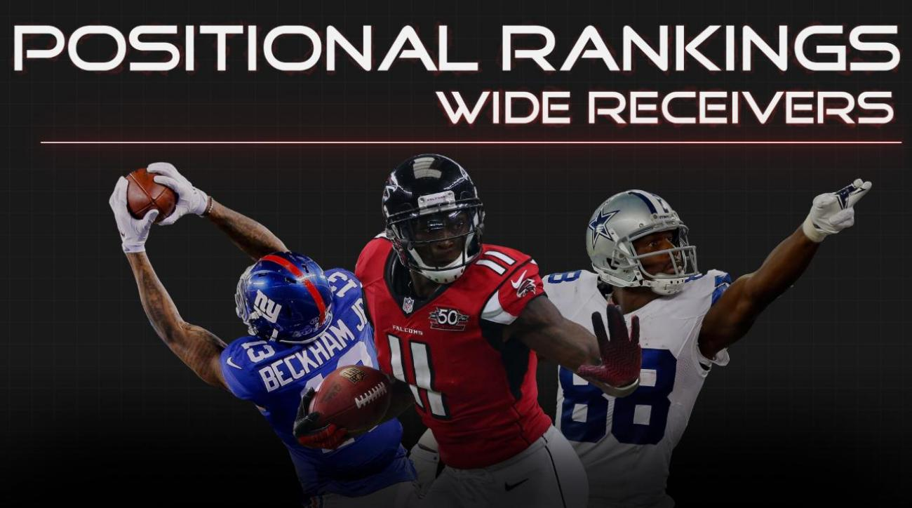 Positional Rankings: Wide receivers