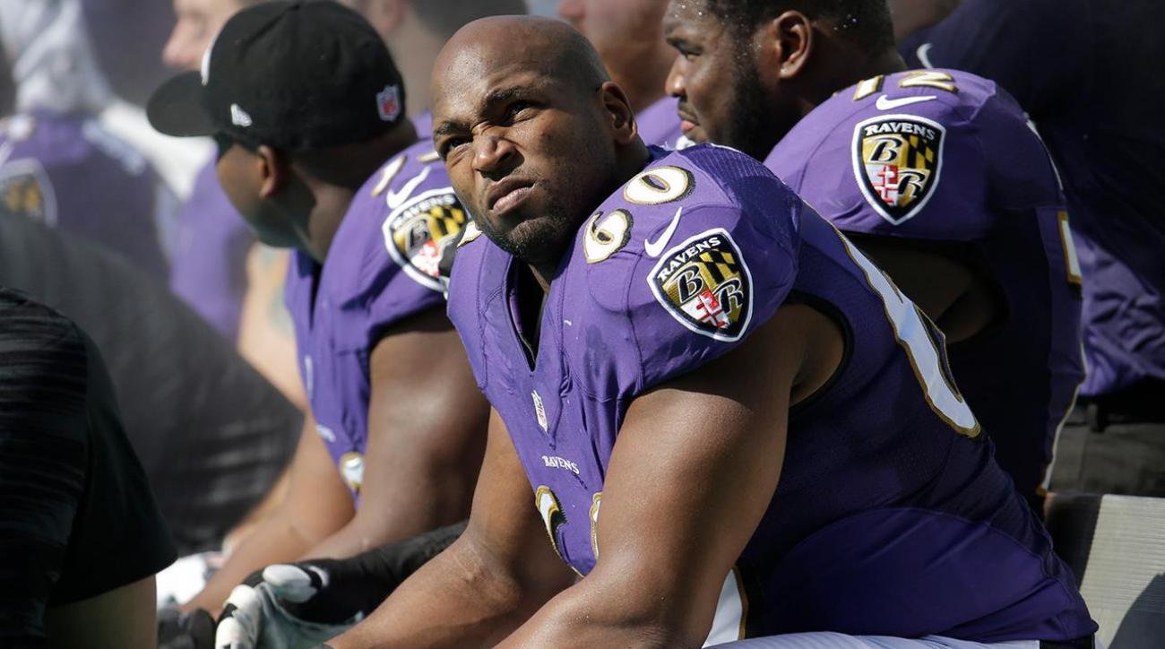 Former Ravens OT Eugene Monroe announces retirement