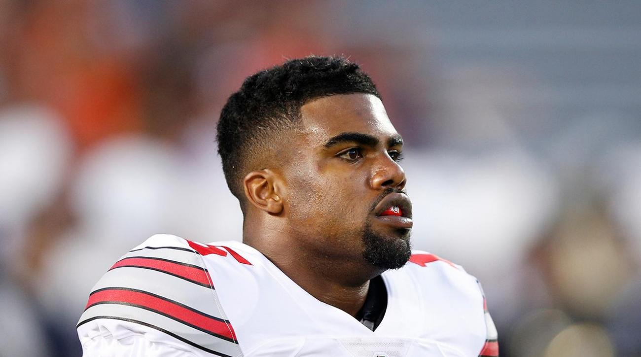 Report: Cowboys RB Ezekiel Elliott denies domestic violence accusations