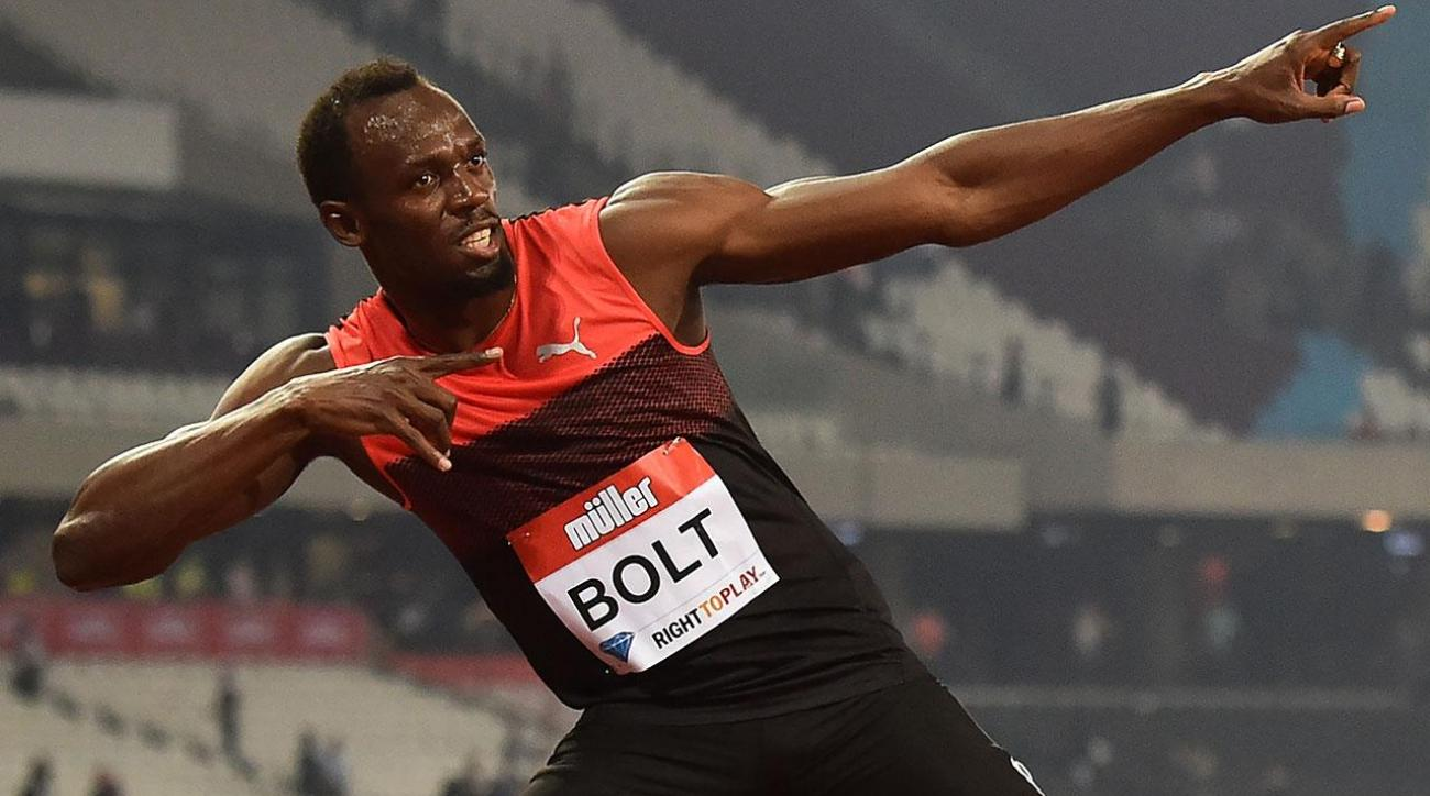 Usain Bolt wins first race after injury scare