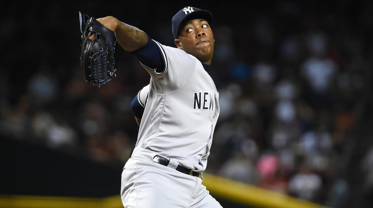 Report: Yankees 'close' to trading Chapman