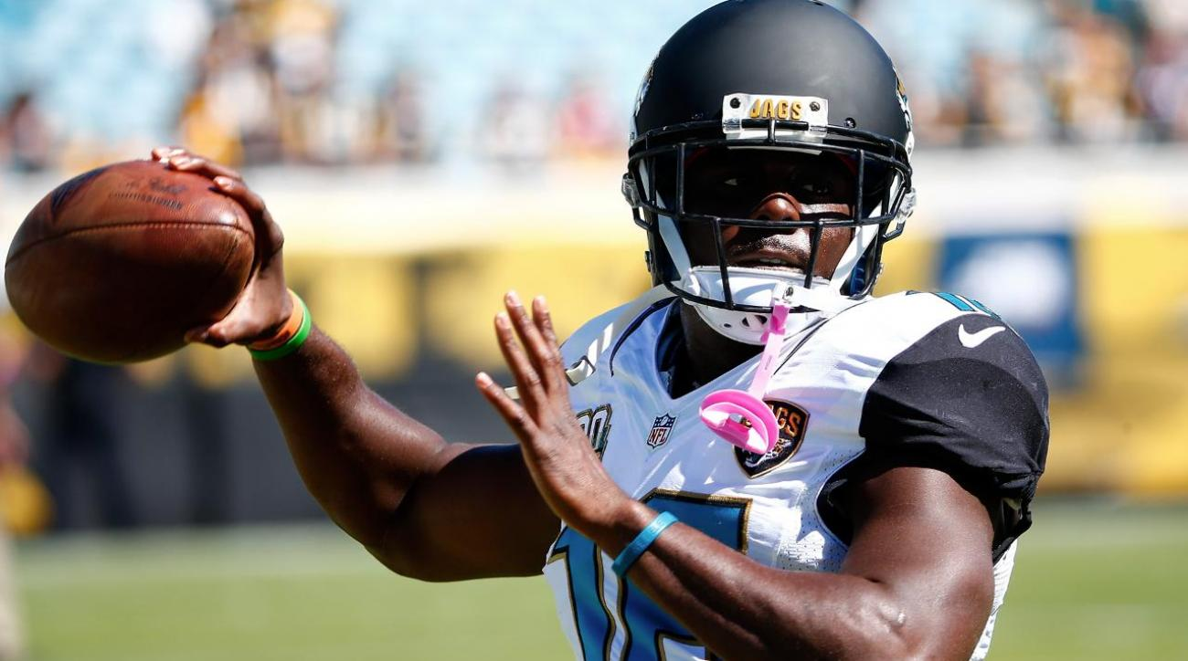 Jaguars RB Denard Robinson open up about car accident IMAGE