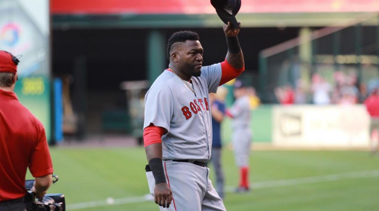 The Angels try out their best Big Papi impersonations IMAGE