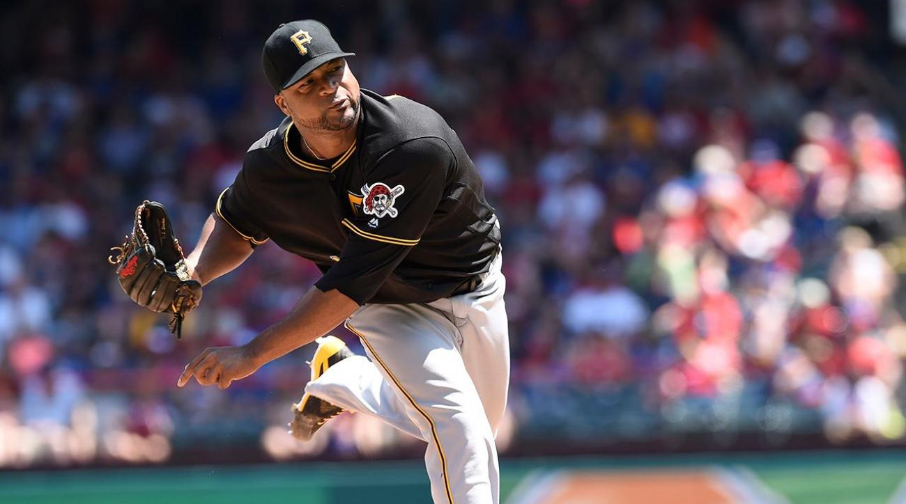 Pirates trade Francisco Liriano to Blue Jays for Drew Hutchinson