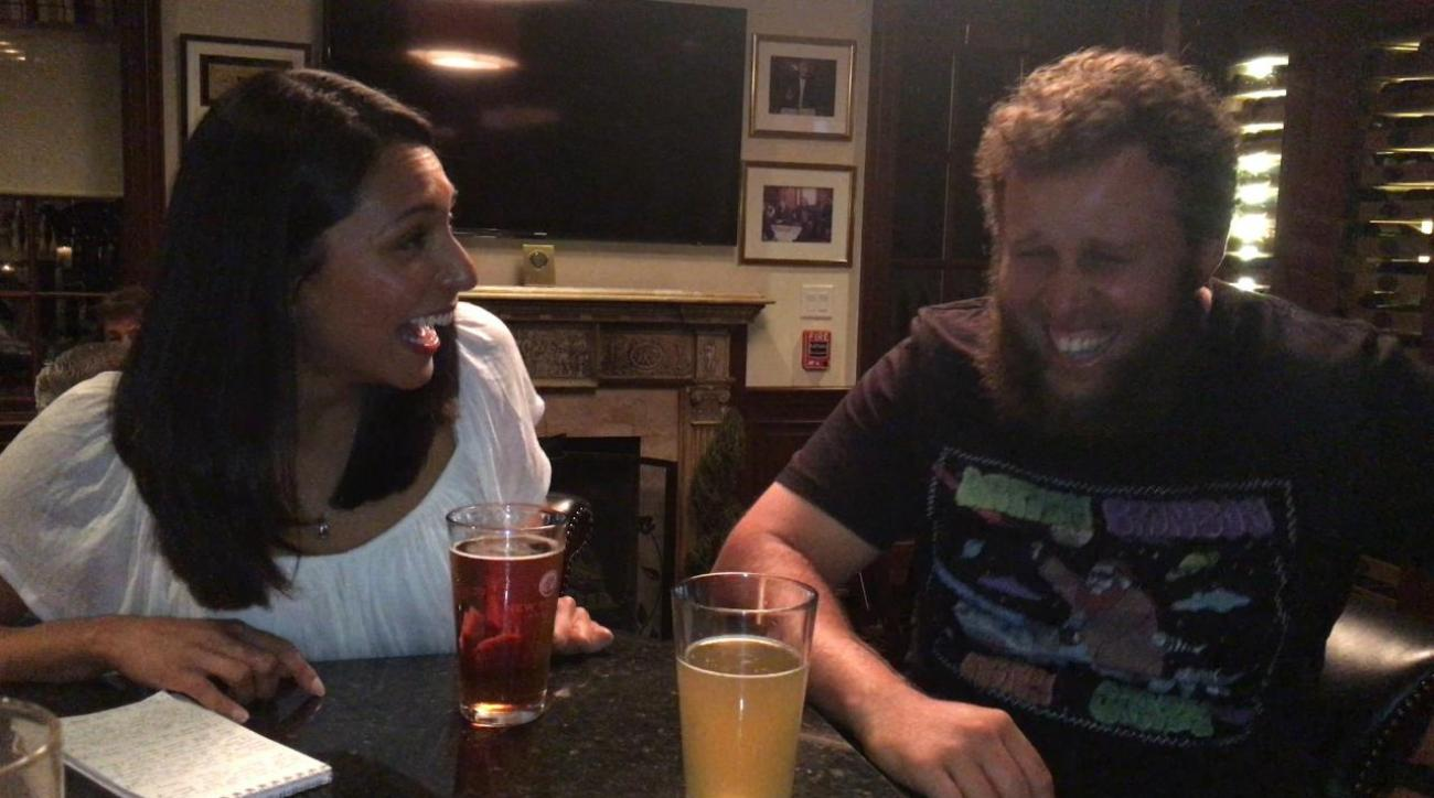 Mustard Minute: Beers with Andrew 'Beef' Johnston IMG