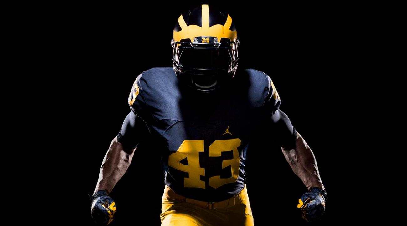 Michigan unveils new Nike Jordan Brand football uniforms