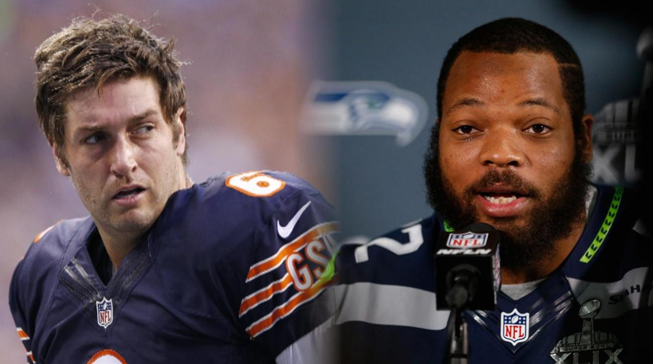 Michael Bennett: Jay Cutler is the 'worst quarterback in the NFL'