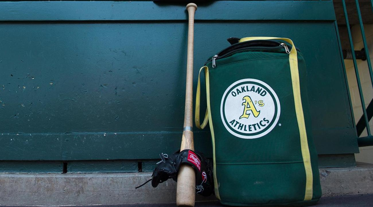 A's employee spied on players with hidden camera