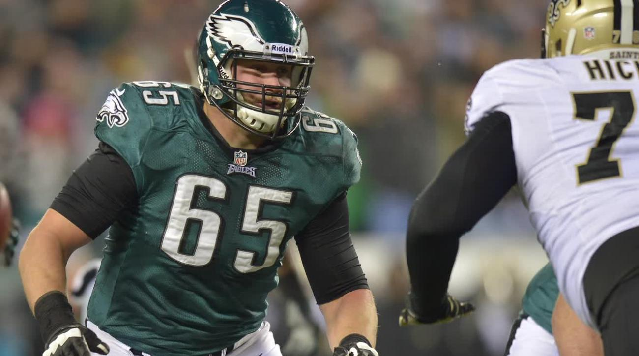 Report: Eagles lineman Lane Johnson suspended 10 games for PED use IMAGE