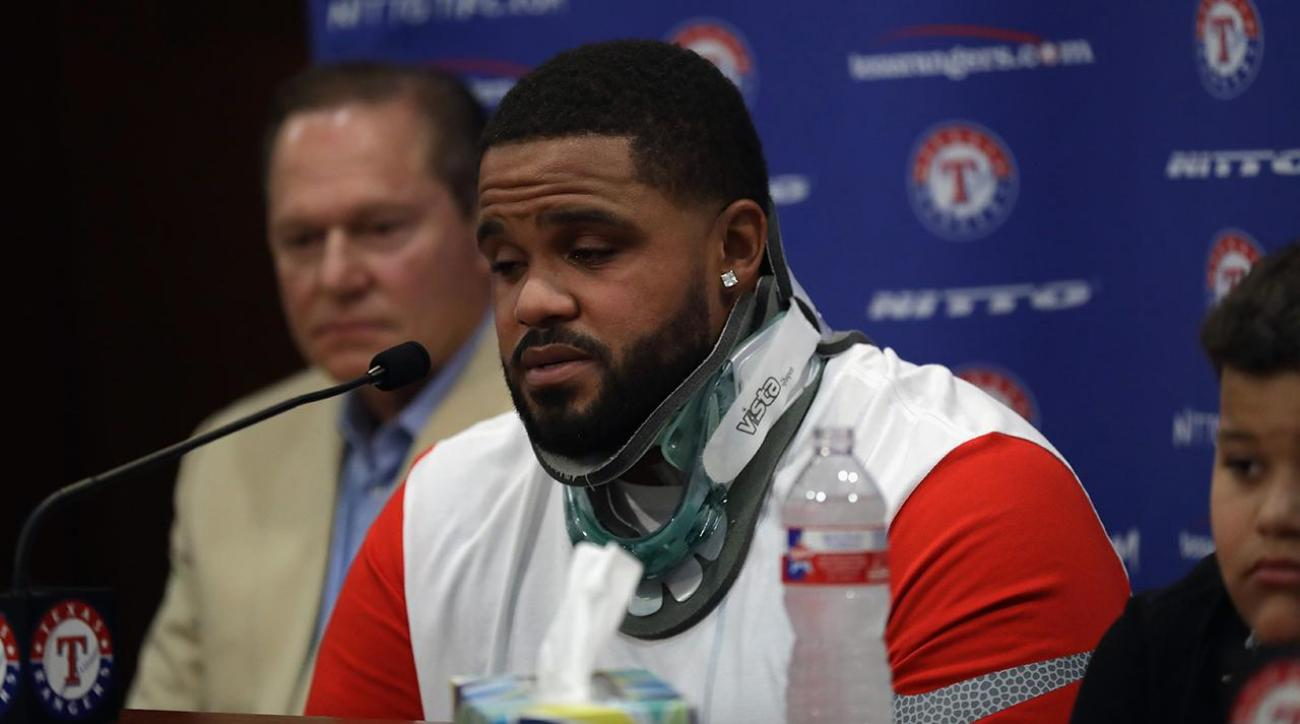 Prince Fielder says emotional goodbye to baseball